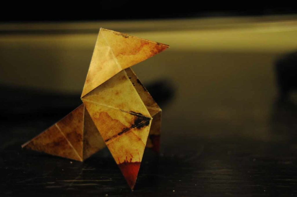 cocotte papier traditionnelle