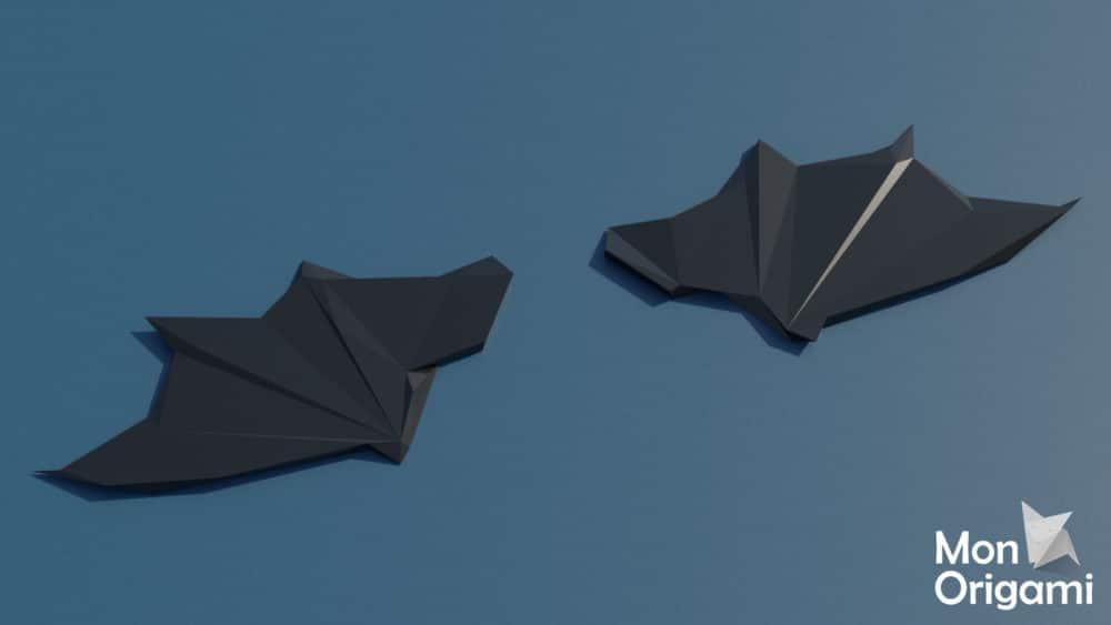 Modèles d'ailes en papercraft