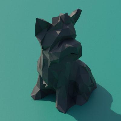 Sculpture origami 3D Yorkshire
