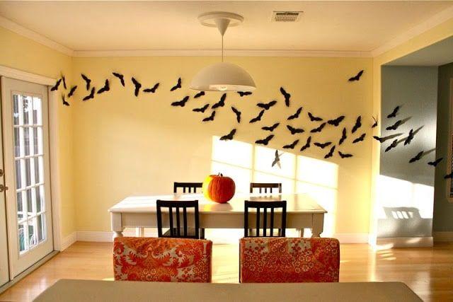Chauves-souris en papier - Decoration Halloween en pliage